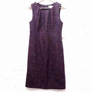 Michel by Michael Kors Tweed Sheath Dress